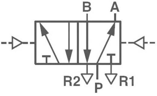 5/2-Wege Mechanischbetätigtes Pneumatik-Ventil Norgren V50A5DDA-XA020 24 V/DC G 1/8 Gehäusematerial Aluminium Dichtungs
