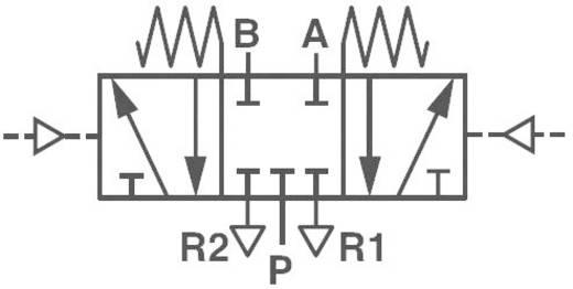 Mechanischbetätigtes Pneumatik-Ventil Norgren V50A6DDA-XA020 24 V/DC G 1/8 Gehäusematerial Aluminium Dichtungsmaterial NBR