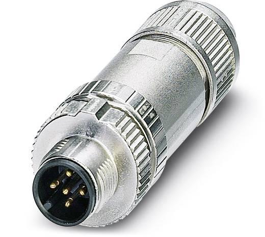 Sensor-/Aktor-Steckverbinder, unkonfektioniert M12 Stecker, gerade Polzahl: 5 Phoenix Contact 1432648 SACC-MS-5SC SH SC