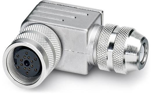 Sensor-/Aktor-Steckverbinder, unkonfektioniert M16 Buchse, gewinkelt Polzahl (RJ): 14 Phoenix Contact 1500253 SACC-M16F