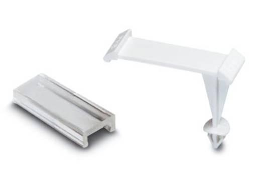 Gerätemarkierung Montageart: aufclipsen Beschriftungsfläche: 29 x 8 mm Passend für Serie Universaleinsatz Weiß, Transpar