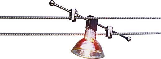 Niedervolt-Seilsystem-Leuchte Universell GU5.3 35 W Halogen, LED Chrom