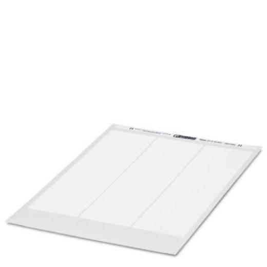 Gerätemarkierung Montageart: aufkleben Beschriftungsfläche: 12.50 x 27 mm Passend für Serie Baugruppen und Schaltanlagen