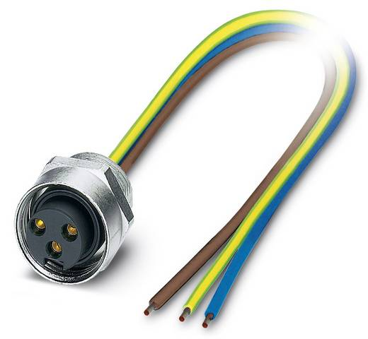 "Sensor-/Aktor-Einbausteckverbinder 7/8"" Buchse, Einbau 0.50 m Polzahl: 3 Phoenix Contact 1521407 SACC-E-MINFS-3CON-PG13/"