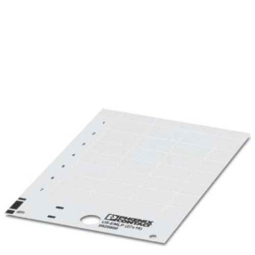 Gerätemarkierung Montageart: aufkleben Beschriftungsfläche: 49 x 15 mm Passend für Serie Baugruppen und Schaltanlagen Si