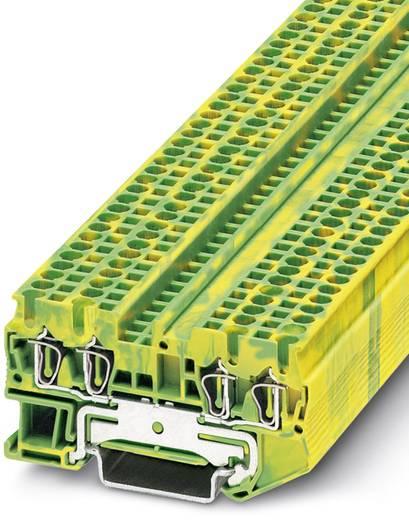 ST 2,5-QUATTRO-PE - Schutzleiter-Reihenklemme ST 2,5-QUATTRO-PE Phoenix Contact Grün-Gelb Inhalt: 50 St.