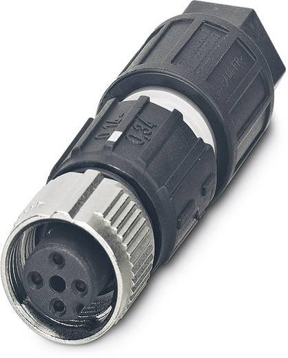 Sensor-/Aktor-Steckverbinder, unkonfektioniert M12 Buchse, gerade Polzahl (RJ): 4 Phoenix Contact 1521588 SACC-FS-4QO-0