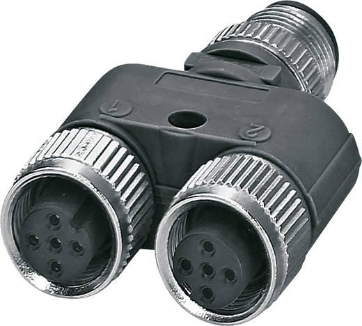 Sensor-/Aktor-Verteiler und Adapter M12 Adapter, Y-Form Polzahl (RJ): 5 Phoenix Contact 1514029 SAC-5P-M12Y/2XM12FS VP