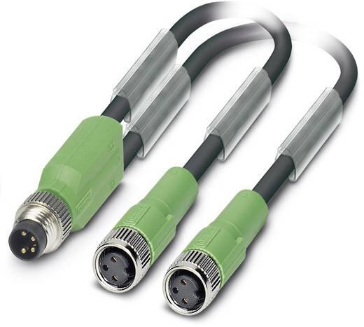 Sensor-/Aktor-Kabel SAC-3P-M8Y/2X0,6-PUR/M 8FS Phoenix Contact Inhalt: 1 St.