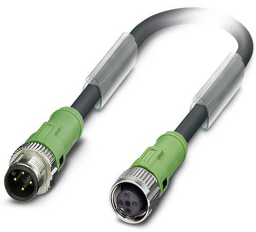 Sensor-/Aktor-Steckverbinder, konfektioniert M12 Stecker, gerade, Buchse, gerade 2 m Polzahl (RJ): 4 Phoenix Contact 155