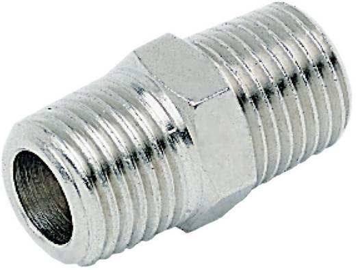 Gerade-Verbinder ICH Außengewinde: R1/8, R1/8