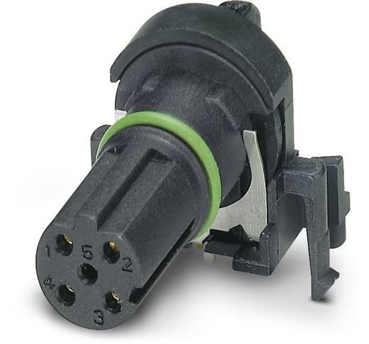Sensor-/Aktor-Einbausteckverbinder M12 Buchse, Einbau Polzahl (RJ): 4 Phoenix Contact 1432457 SACC-CI-M12FSD-4CON-L90 S