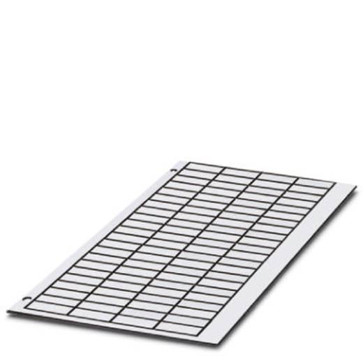Gerätemarkierung Montage-Art: aufkleben Beschriftungsfläche: 17 x 12 mm Passend für Serie Universaleinsatz Weiß Phoenix