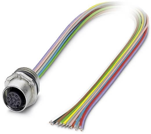 Sensor-/Aktor-Einbausteckverbinder M12 Buchse, Einbau Polzahl (RJ): 12 Phoenix Contact 1556252 SACC-E-FS-12CON-M16/0,5