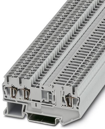 ST 2,5-TWIN-TG - Bauelementreihenklemme ST 2,5-TWIN-TG Phoenix Contact Grau Inhalt: 50 St.