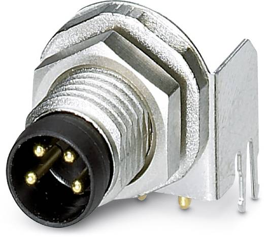Sensor-/Aktor-Einbausteckverbinder M8 Stecker, Einbau Polzahl: 4 Phoenix Contact 1456048 SACC-DSI-M8MS-4CON-L90 SH 20 S
