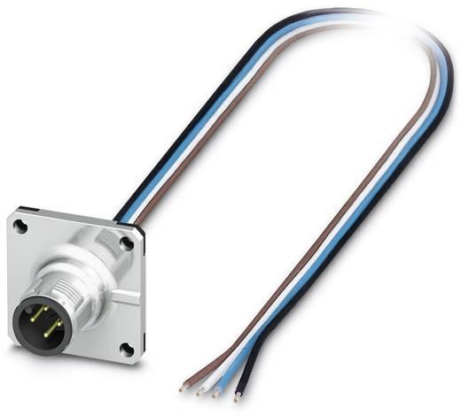 Sensor-/Aktor-Einbausteckverbinder M12 Stecker, Einbau Polzahl (RJ): 4 Phoenix Contact 1419784 SACC-SQ-M12MS-4CON-20/0,