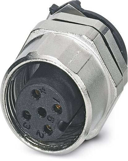 Sensor-/Aktor-Einbausteckverbinder M12 Buchse, Einbau Polzahl (RJ): 4 Phoenix Contact 1440009 SACC-DSIV-FS-4CON-L180SCO