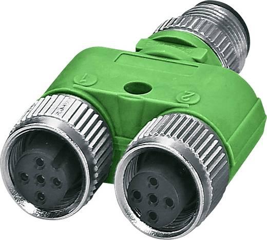 Sensor-/Aktor-Verteiler und Adapter M12 Adapter, Y-Form Polzahl (RJ): 5 Phoenix Contact 1526253 SAC-5P-M12YF/M12FS-M12M