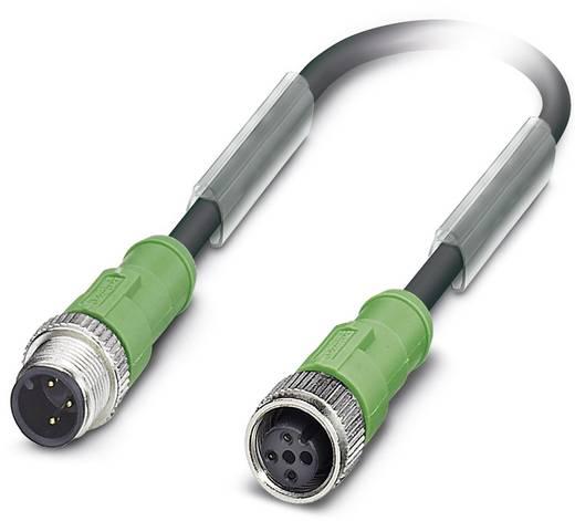 Sensor-/Aktor-Steckverbinder, konfektioniert M12 Stecker, gerade, Buchse, gerade 1 m Polzahl: 3 Phoenix Contact 1698084