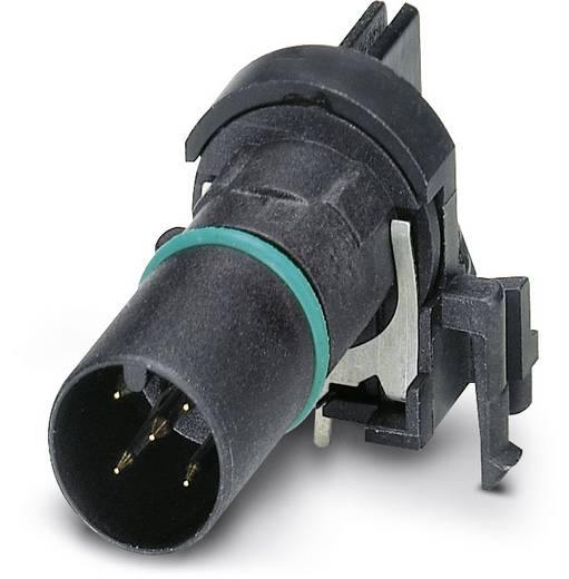 Sensor-/Aktor-Einbausteckverbinder M12 Stecker, Einbau Polzahl: 5 Phoenix Contact 1436699 SACC-CI-M12MSB-5CON-L90 SH SC