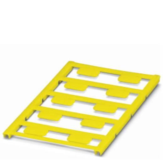 Gerätemarkierung Montage-Art: aufkleben Beschriftungsfläche: 17 x 9 mm Passend für Serie Universaleinsatz Gelb Phoenix C