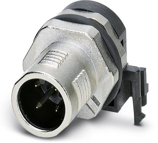Sensor-/Aktor-Einbausteckverbinder M12 Stecker, Einbau Polzahl (RJ): 4 Phoenix Contact 1436589 SACC-DSIV-MS-4CON-L90 SC