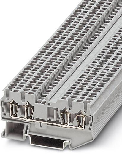 ST 1,5-QUATTRO - Durchgangsreihenklemme ST 1,5-QUATTRO Phoenix Contact Grau Inhalt: 50 St.