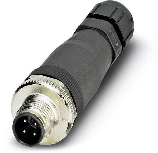 Sensor-/Aktor-Steckverbinder, unkonfektioniert M12 Stecker, gerade Polzahl: 4 Phoenix Contact 1556870 SACC-M12MS-4CON-P
