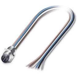 Zabudovateľný zástrčkový konektor pre senzory - aktory Phoenix Contact SACC-E-M 8MS-6CON-M 8/0,5 1542664, 1 ks