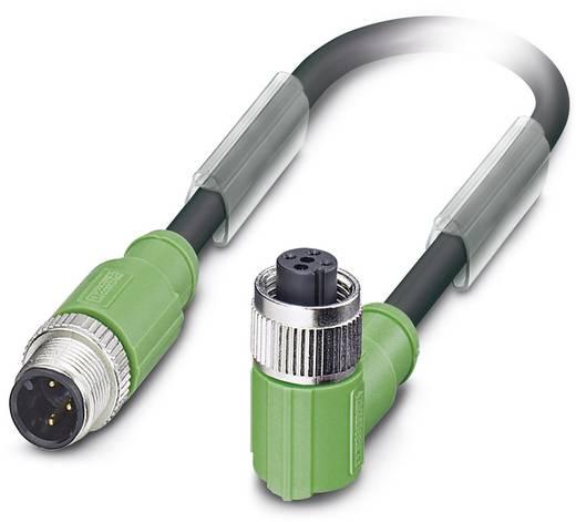 Sensor-/Aktor-Steckverbinder, konfektioniert M12 Stecker, gerade, Buchse, gewinkelt 2 m Polzahl (RJ): 3 Phoenix Contact