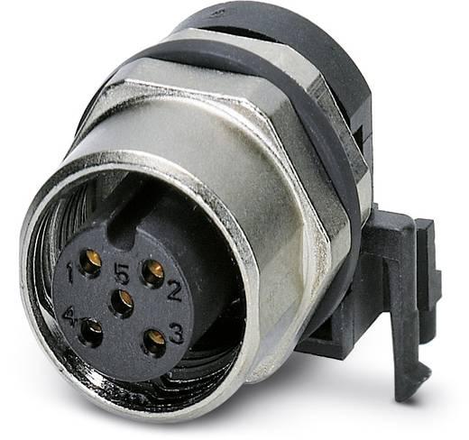 Sensor-/Aktor-Einbausteckverbinder M12 Buchse, Einbau Polzahl: 5 Phoenix Contact 1438024 SACC-DSIV-FS-5CON-L90 SH SCO 1
