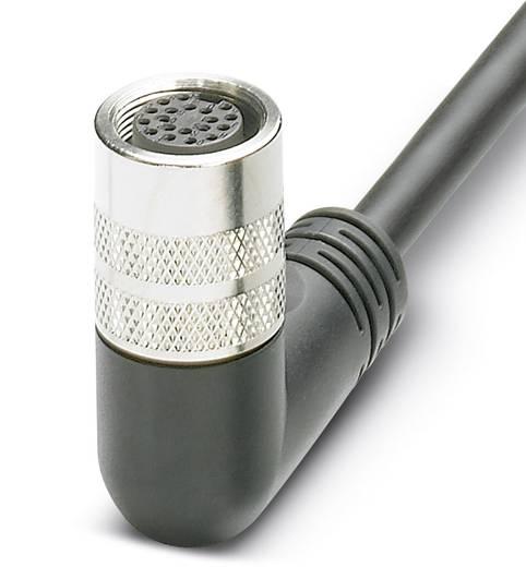 Sensor-/Aktor-Anschlussleitung M16 Buchse, gewinkelt Polzahl (RJ): 12 Phoenix Contact 1693733 SAC-12P-10,0-PUR/M16FR 1