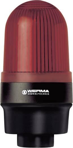 Signalleuchte Werma Signaltechnik 219.100.00 Rot Dauerlicht 12 V/AC, 12 V/DC, 24 V/AC, 24 V/DC, 48 V/AC, 48 V/DC, 110 V