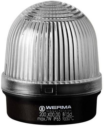 Signalleuchte Werma Signaltechnik 200.400.00 Weiß Dauerlicht 12 V/AC, 12 V/DC, 24 V/AC, 24 V/DC, 48 V/AC, 48 V/DC, 110