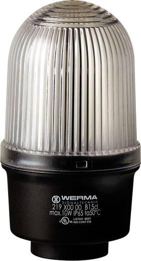 Signalleuchte Werma Signaltechnik 219.400.00 Weiß Dauerlicht 12 V/AC, 12 V/DC, 24 V/AC, 24 V/DC, 48 V/AC, 48 V/DC, 110