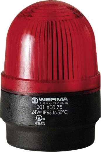 Signalleuchte Werma Signaltechnik 202.100.55 Rot Blitzlicht 24 V/DC