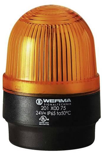 Signalleuchte Werma Signaltechnik 202.300.68 Gelb Blitzlicht 230 V/AC