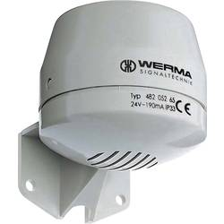 Image of Werma Signaltechnik Signalhupe 482.052.55 Dauerton 24 V/DC 92 dB