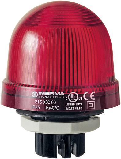 Signalleuchte Werma Signaltechnik 815.100.00 Rot Dauerlicht 12 V/AC, 12 V/DC, 24 V/AC, 24 V/DC, 48 V/AC, 48 V/DC, 110 V
