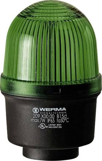 Signalleuchte Werma Signaltechnik 209.200.00 Grün Dauerlicht 12 V/AC, 12 V/DC, 24 V/AC, 24 V/DC, 48 V/AC, 48 V/DC, 110
