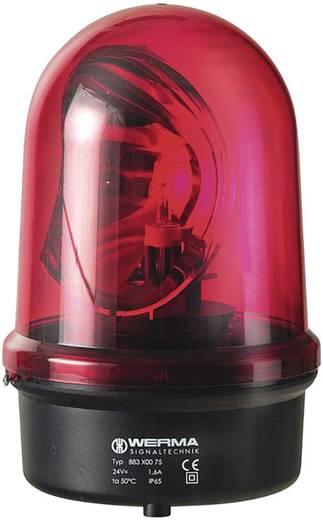Rundumleuchte Werma Signaltechnik 883.100.75 Rot Rundumlicht 24 V/AC, 24 V/DC