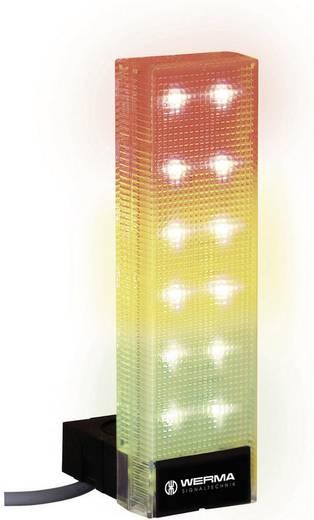 Signalsäule Werma Signaltechnik 690.300.55 Rot, Gelb, Grün 24 V/DC 85 dB