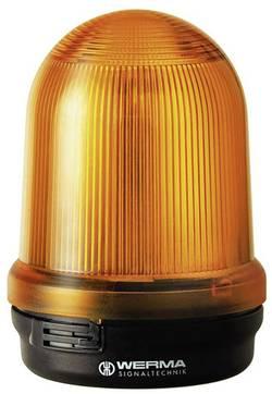 LED trvalé/blikající/otočné světlo osvětlení Werma, 829.350.55, 24 V/DC, ≤ 300 mA, žlutá