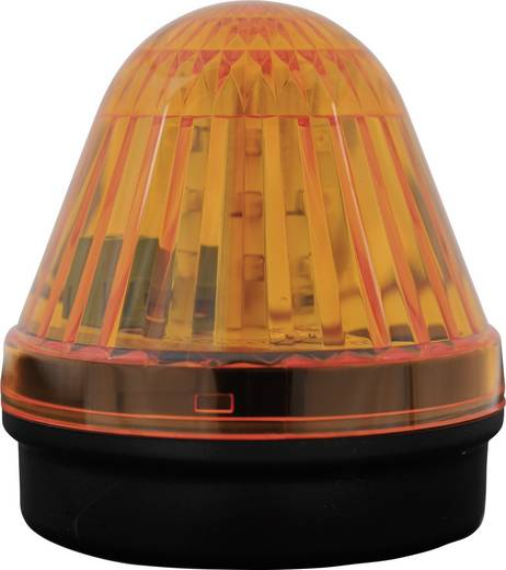 Signalleuchte LED ComPro Blitzleuchte BL50 2F Gelb Dauerlicht, Blitzlicht 24 V/DC, 24 V/AC