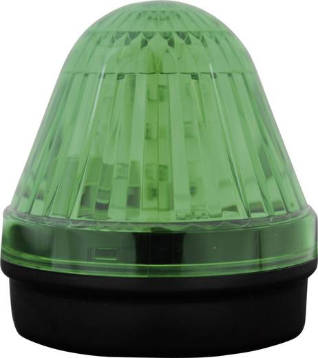 Signalleuchte LED ComPro Blitzleuchte BL50 2F Grün Dauerlicht, Blitzlicht 24 V/DC, 24 V/AC