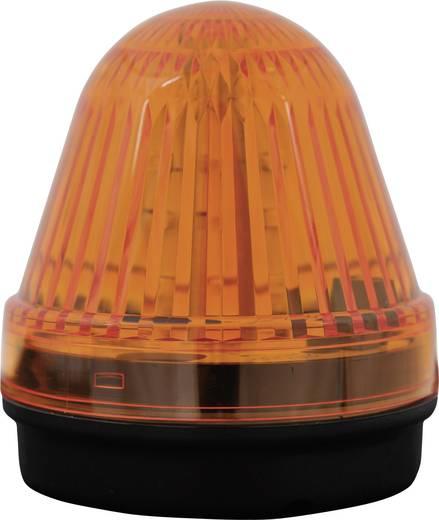 Signalleuchte LED ComPro Blitzleuchte BL70 15F Gelb Dauerlicht, Blitzlicht, Rundumlicht 24 V/DC, 24 V/AC