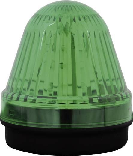 Signalleuchte LED ComPro Blitzleuchte BL70 2F Grün Dauerlicht, Blitzlicht 24 V/DC, 24 V/AC