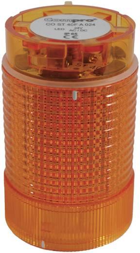Signalsäulenelement LED ComPro CO ST 40 Gelb Dauerlicht, Blitzlicht, Rundumlicht 24 V/DC, 24 V/AC 75 dB