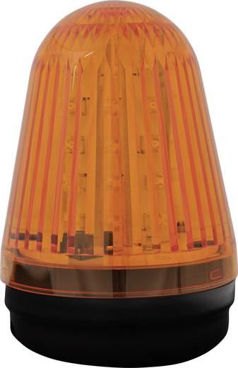 Signalleuchte LED ComPro Blitzleuchte BL90 15F Gelb Dauerlicht, Blitzlicht, Rundumlicht 24 V/DC, 24 V/AC